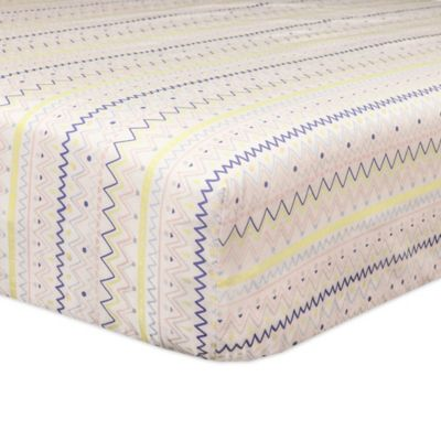 Babyletto Desert Dreams Mini Crib Bedding Collection > Babyletto Desert Dreams Fitted Mini Crib Sheet