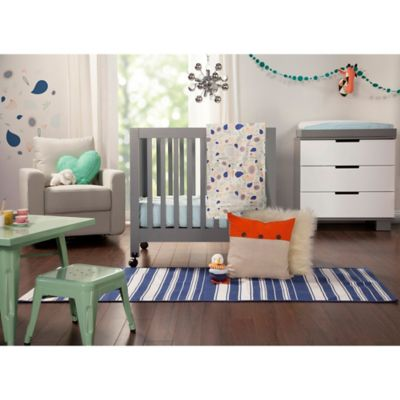 Babyletto Fleeting Flora 4-Piece Mini Crib Bedding Collection