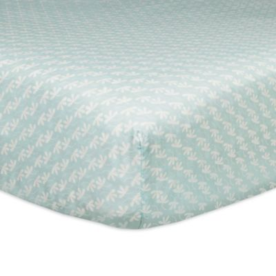 Babyletto Fleeting Flora Mini Fitted Crib Sheet