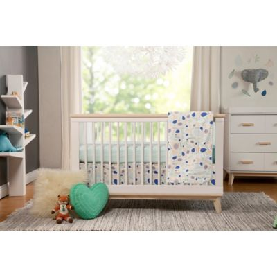 5-Piece Blue Crib Bedding