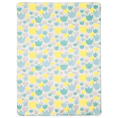 Babyletto Tulip Garden Play and Toddler Blanket
