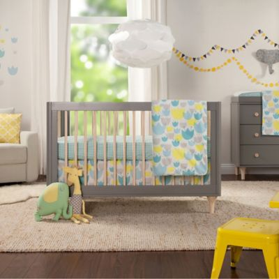 Babyletto Tulip Garden 6-Piece Crib Bedding Set