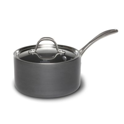 Calphalon® Commercial Hard Anodized 2.5 qt. Covered Saucepan