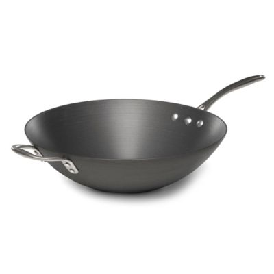 "Calphalon® Commercial Hard Anodized 12"" Stir Fry Pan"