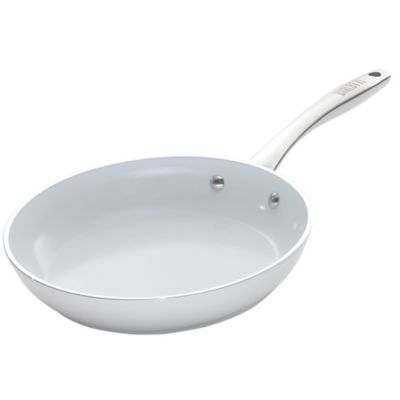 Bialetti® Purity Ceramic 12-Inch Fry Pan in White