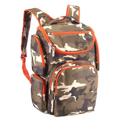 Lug® Outfielder Backpack in Camo Olive