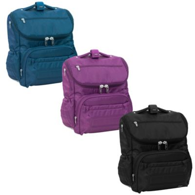 Lug® Pitter Patter Carry-All Diaper Bag Backpack in Plum Purple