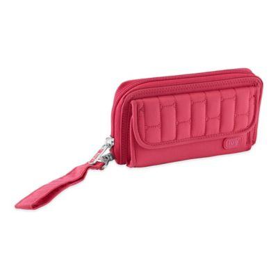 Lug® Kickflip Convertible Wallet in Rose Pink