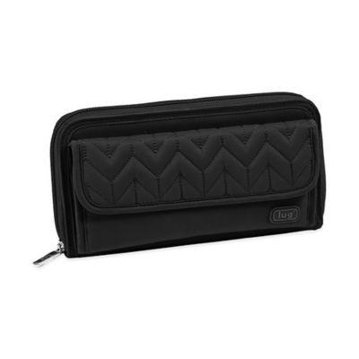 Lug® Quick-Step Wallet in Midnight Black