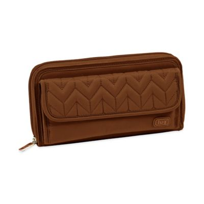 Lug® Quick-Step Wallet in Chocolate Brown