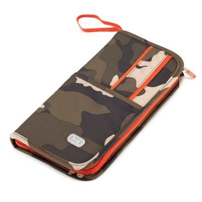Lug® Scout Travel Wallet in Camo Olive