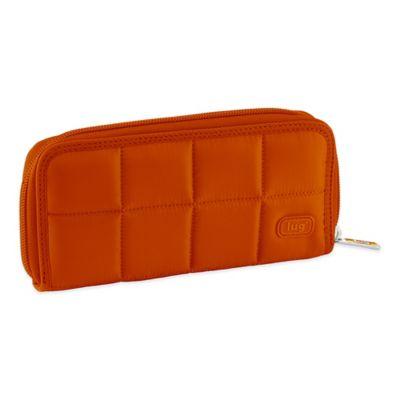 Lug® Shuffle Wallet in Sunset Orange