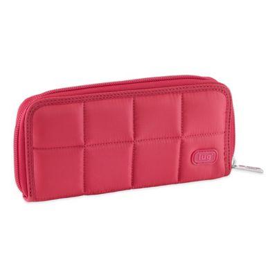 Lug® Shuffle Wallet in Rose Pink