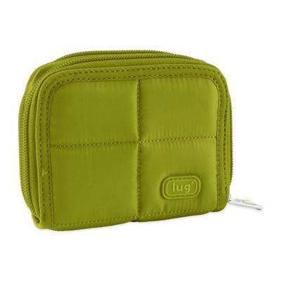 Lug® Splits Compact Wallet in Grass Green