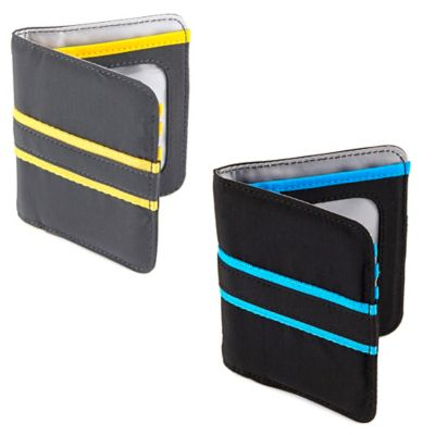 Lug® Tailback Pocket Wallet in Midnight Black