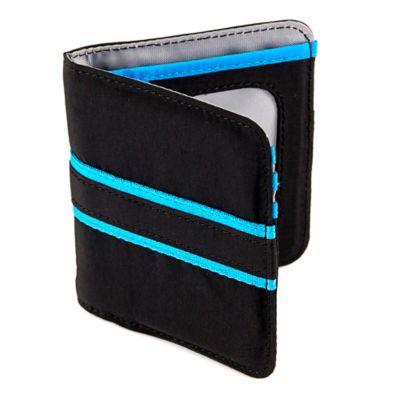 Lug® Tailback Pocket Wallet in Midnight Black