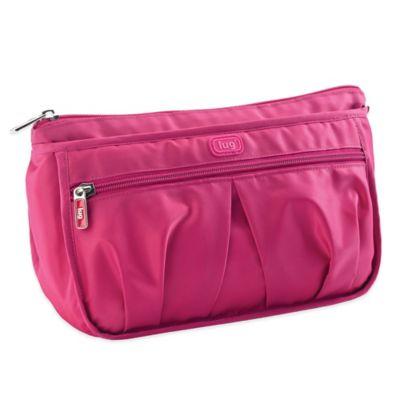 Lug® Parasail Ripple Cosmetic Bag in Rose Pink