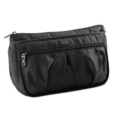 Lug® Parasail Ripple Cosmetic Bag in Midnight Black
