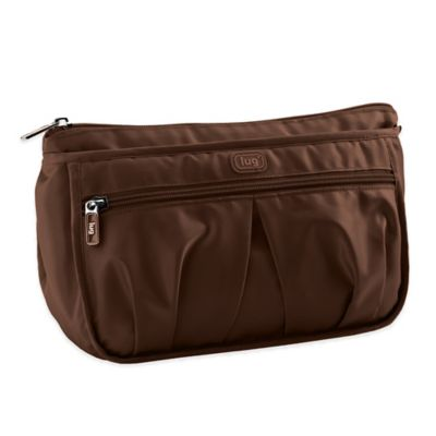 Lug® Parasail Ripple Cosmetic Bag in Chocolate Brown