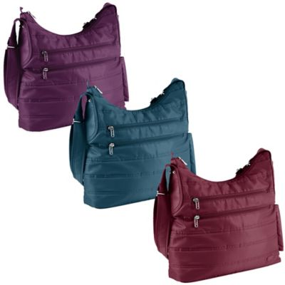 Lug® Cable Car Satchel Bag in Cranberry Red