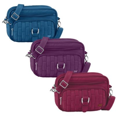 Lug® Carousel Mini Cross-Body Bag in Plum Purple