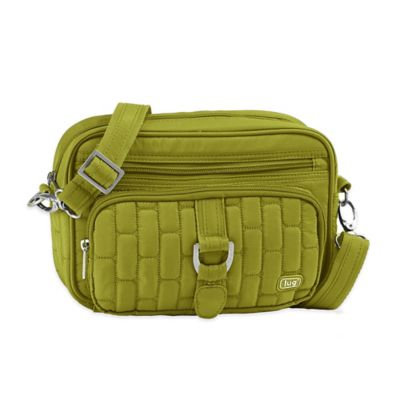 Lug® Carousel Mini Cross-Body Bag in Grass Green