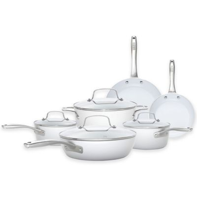 Bialetti® Purity Ceramic 10-Piece Cookware Set