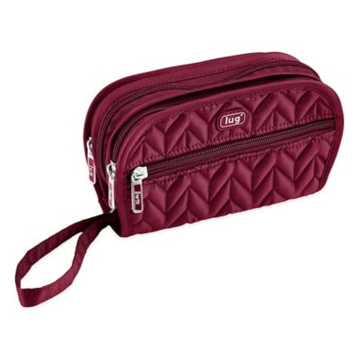 Lug® Flipper Jewelry Clutch in Cranberry Red