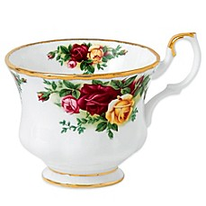 Royal Albert 6.5-Ounce Teacup in Old Country Roses