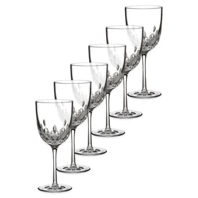 Waterford® Lismore Encore Crystal 6 oz. White Wine Glasses (Set of 6)