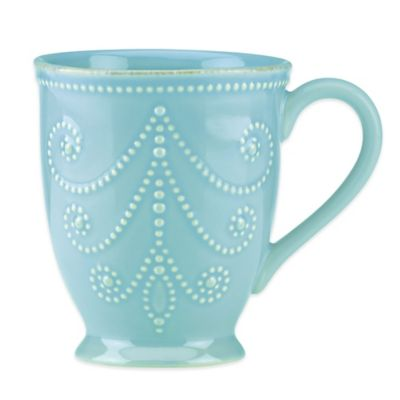 Lenox® French Perle Mug in Robins Egg