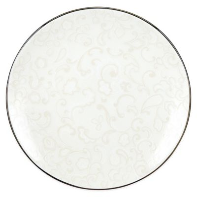 Lenox® Venetian Lace Lattice Accent Plate in White