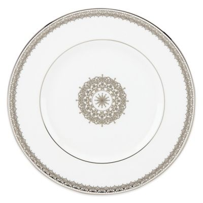 Lenox® Lace Couture Medallion Accent Plate in White