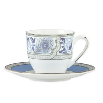 Marchesa by Lenox® Couture Sapphire Plume Demitasse Cup and Saucer