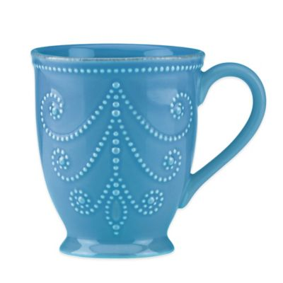 Lenox® French Perle Mug in Marine Blue