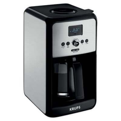 Krups® Savoy 12-Cup Stainless Steel Coffee Maker