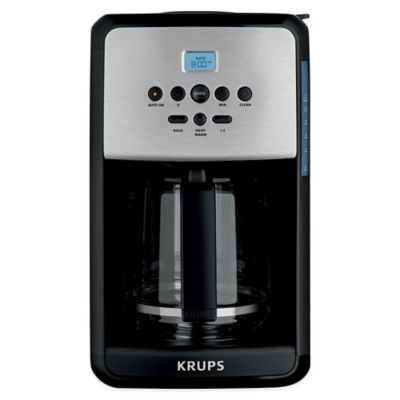 Krups® 12-Cup Programmable Coffee Maker Coffee Makers