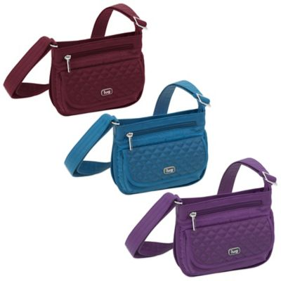 Lug® Sway Mini Cross-Body Bag in Cranberry Red
