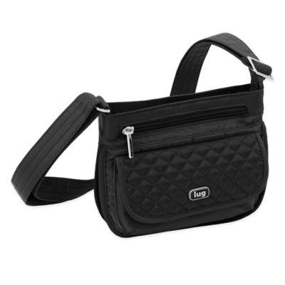 Lug® Sway Mini Cross-Body Bag in Midnight Black
