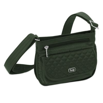 Green Cross-Body Bag
