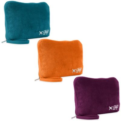 Lug® Nap Sac Travel Blanket and Pillow Set in Sunset Orange