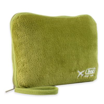 Lug® Nap Sac Travel Blanket and Pillow Set in Grass Green