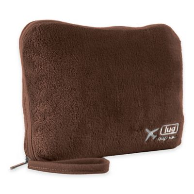 Lug® Nap Sac Travel Blanket and Pillow Set in Chocolate Brown