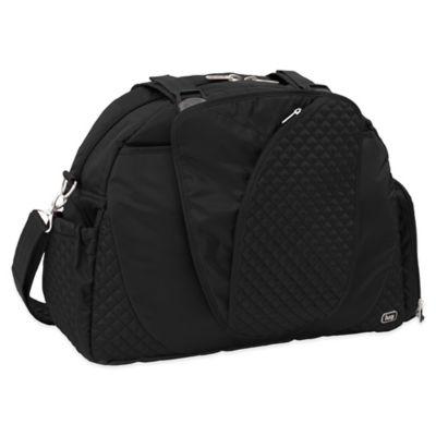 Lug® Cartwheel Overnight/Gym Bag in Midnight Black