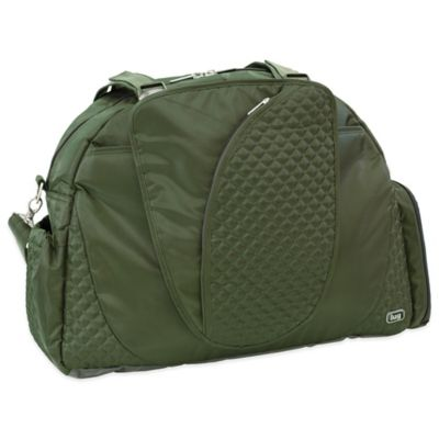 Lug® Cartwheel Overnight/Gym Bag in Olive Green