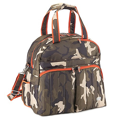 Buy Lug 174 Boxer Overnight Gym Duffle In Camo Olive From Bed