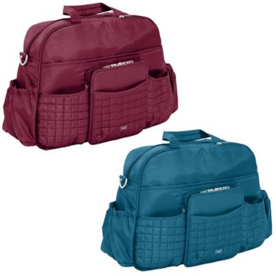 Lug® Tuk Tuk Carry-All Bag in Cranberry Red
