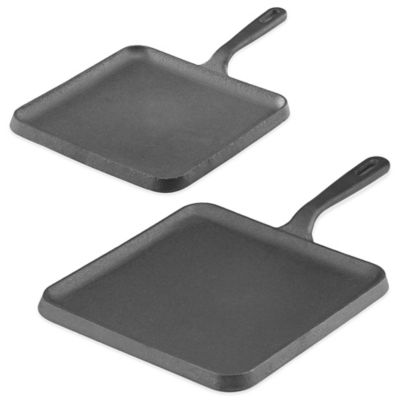 Lenox® Rick Bayless 12-Inch Square Comel Pan by Gorham® in Black