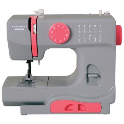 Janome Graceful Grey Portable Sewing Machine