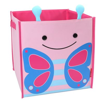 SKIP*HOP® Zoo Butterfly Large Canvas Storage Bin